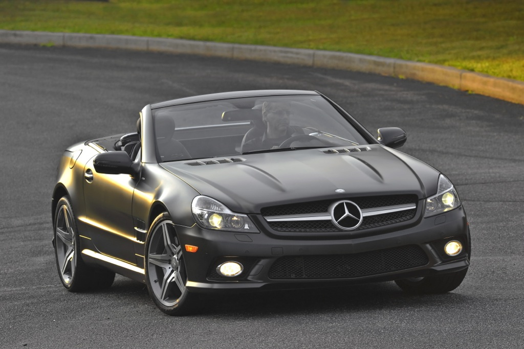 2012 Mercedes-Benz SL550: New Car Review