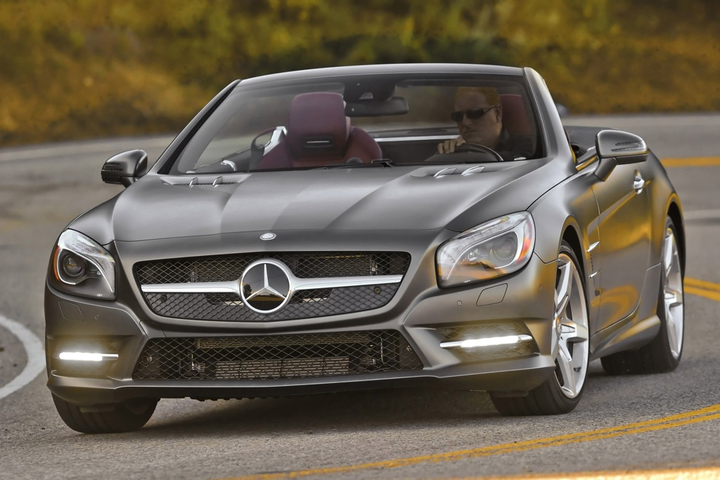 2013 Mercedes-Benz SL550: New Car Review