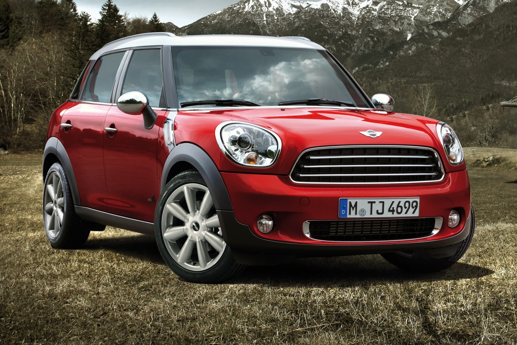 2012 Mini Countryman: New Car Review