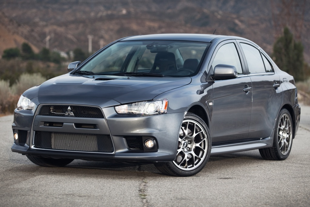 2012 Mitsubishi Lancer Evolution: New Car Review