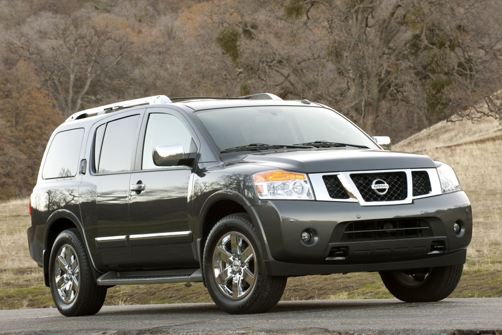 2012 Nissan Armada: New Car Review