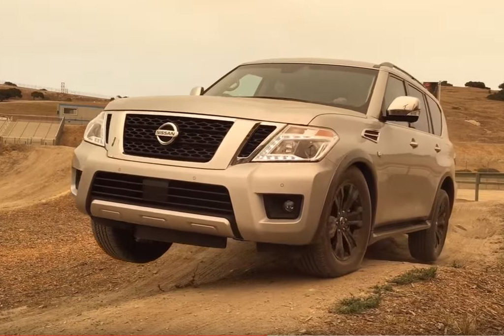 2017 Nissan Armada: Can It Go Off-Road? Video