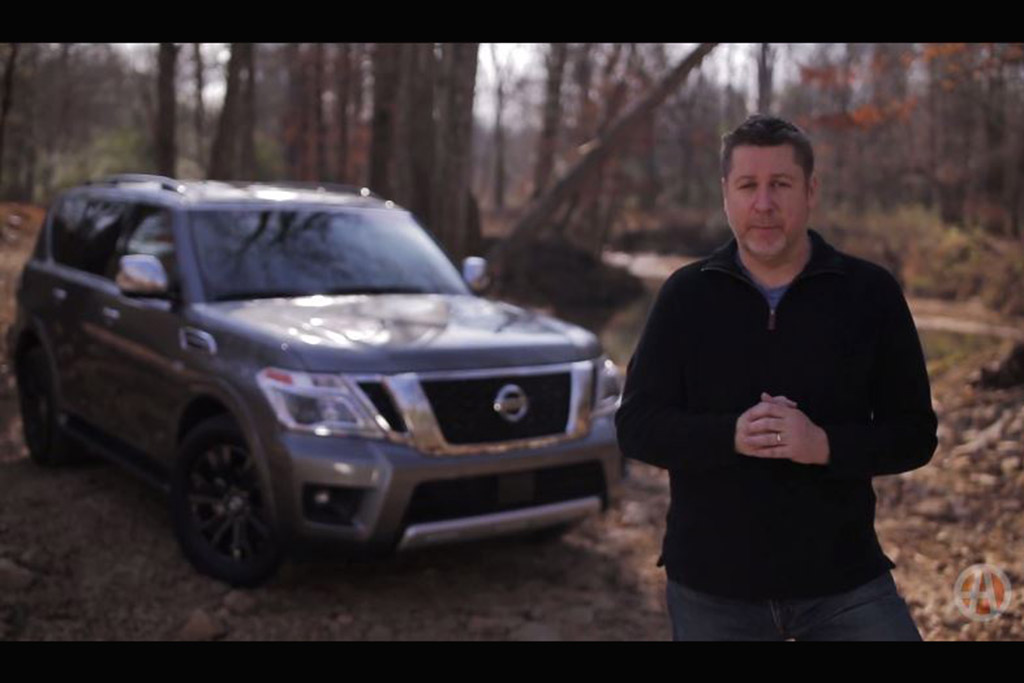 2017 Nissan Armada: Real World Review - Video