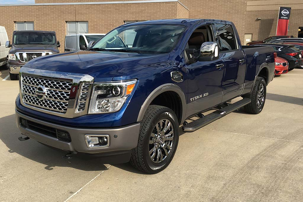 2016 Nissan Titan XD Crew Cab 5.6L: First Drive Review - Video