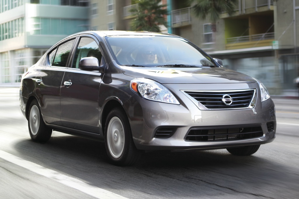 2012 Nissan Versa: New Car Review