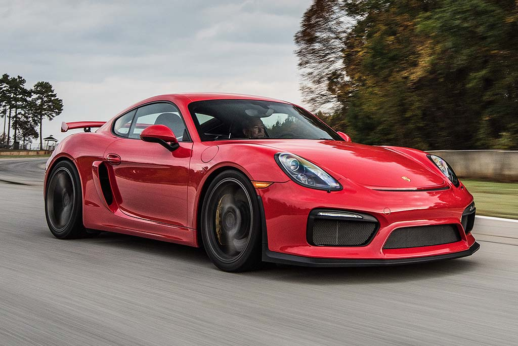 2016 Porsche Cayman: New Car Review