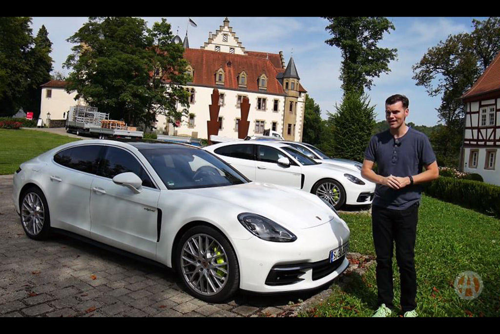 2018 Porsche Panamera E-Hybrid: First Drive Review - Video