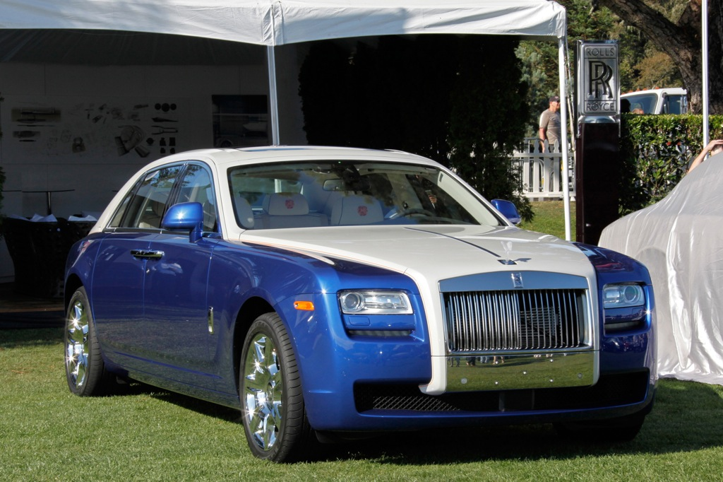 2013 Rolls-Royce Ghost: Overview