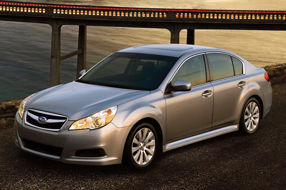 2012 Subaru Legacy 3.6R Limited: Real World Test