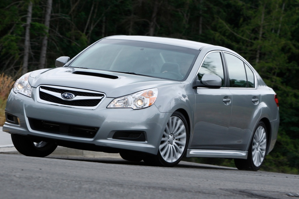 2012 Subaru Legacy: New Car Review