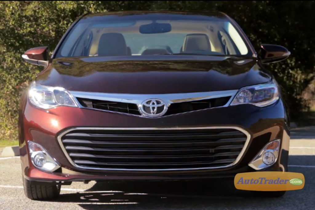 2013 Toyota Avalon Touring: New Car Review Video