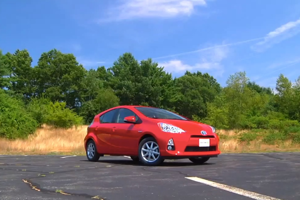 2012 Toyota Prius C: New Car Review Video