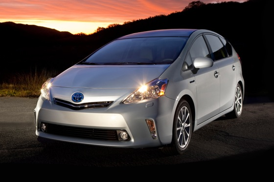 2012 Toyota Prius V: New Car Review