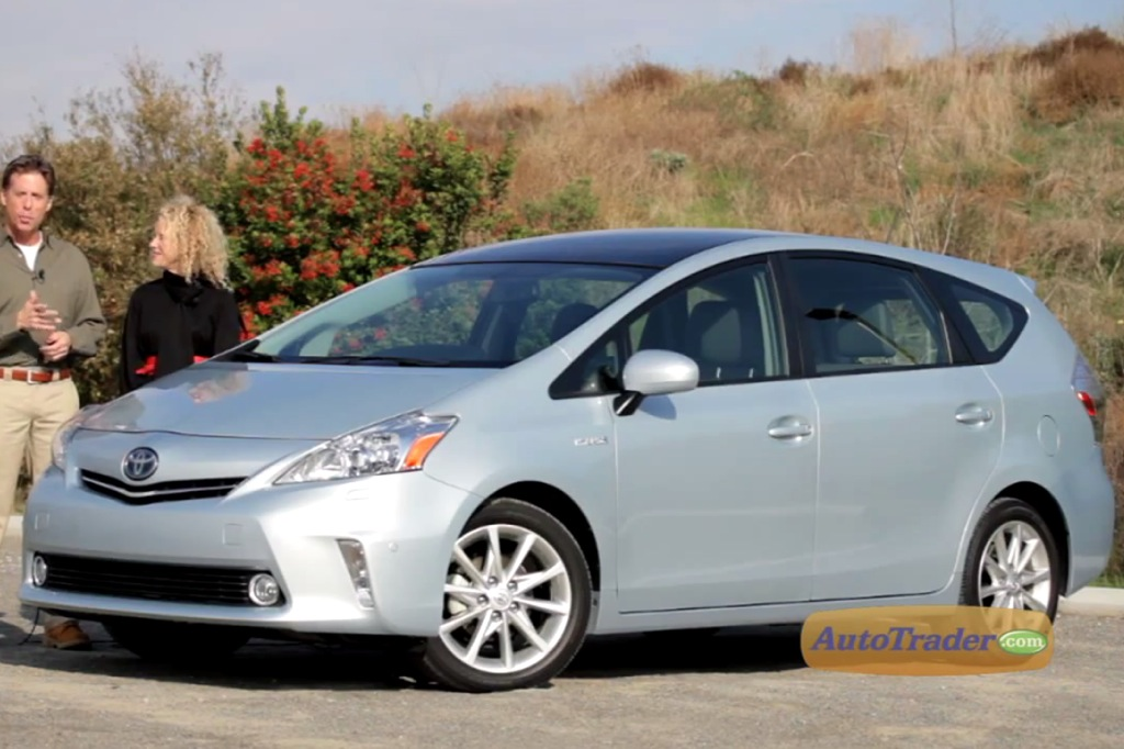 2012 Toyota Prius V: New Car Review - Video