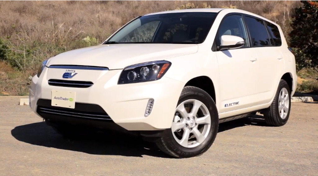 2012 Toyota RAV4 EV: New Car Review Video
