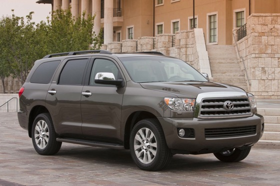 2012 Toyota Sequoia: New Car Review featured image large thumb0