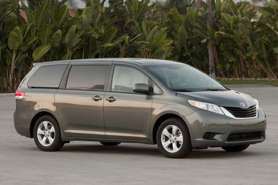 2012 Toyota Sienna: New Car Review