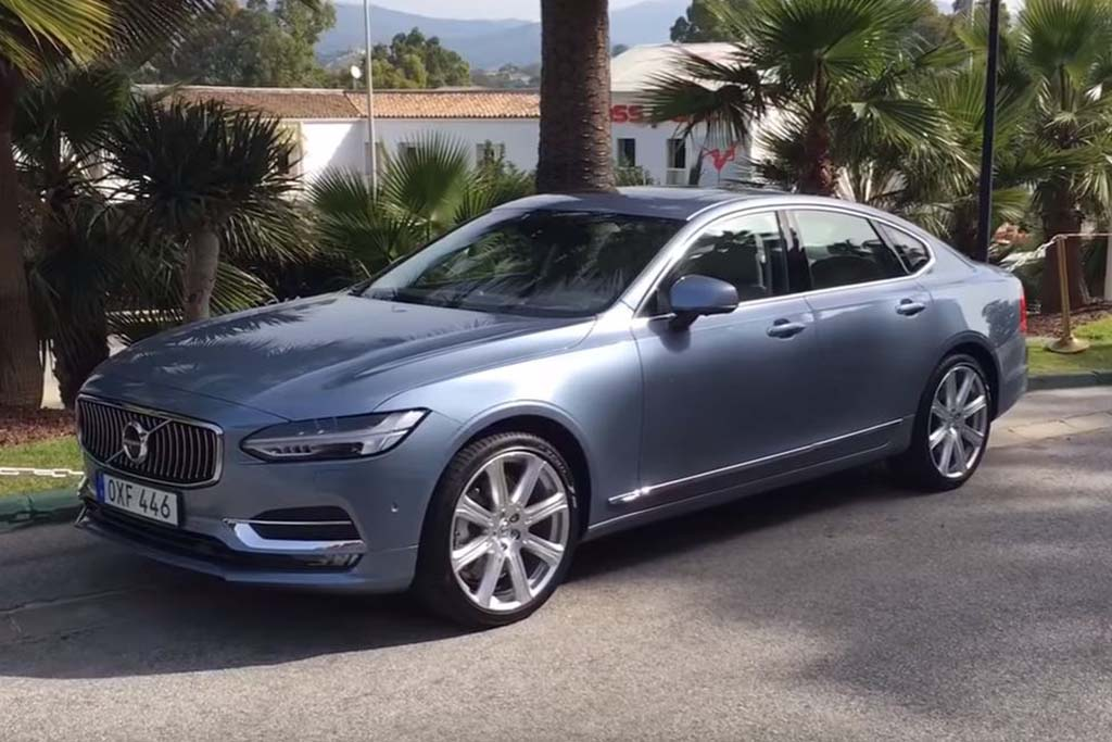 2017 Volvo S90: 5 Things You Should Know - Video