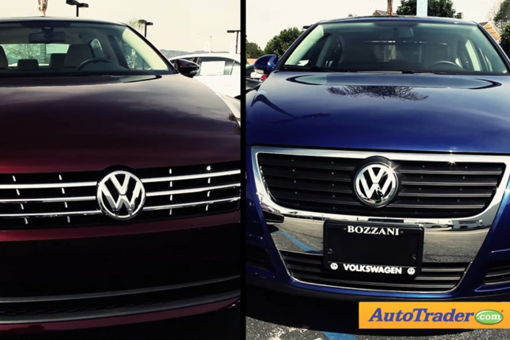 2012 Volkswagen Passat: New vs. Old - Video