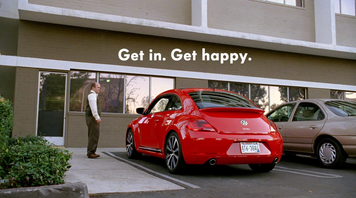 Volkswagen Beetle: Get Happy