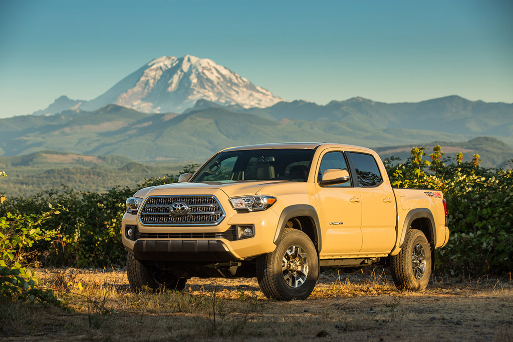 2016 Toyota Tacoma: New V6 Engine Technology