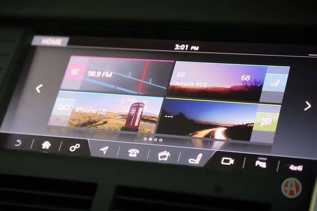 New Car Technology: Land Rover InControl - Video