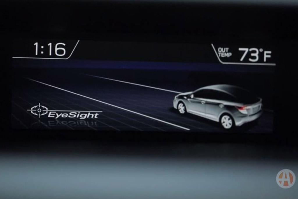 New Car Technology: Subaru EyeSight Driver Assist Technology - Video