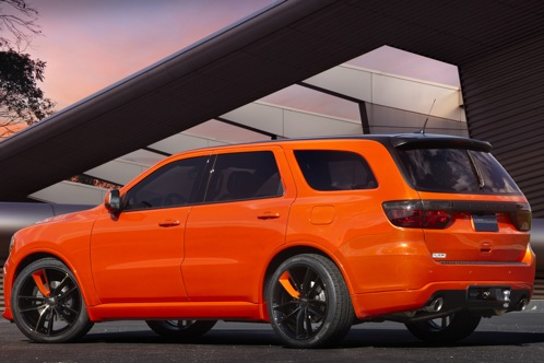Dodge Goes Bright with Durango Tow Hook - SEMA Auto Show featured image large thumb0