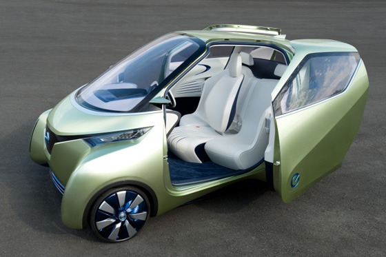 Nissan Pivo 3 Concept - Tokyo Auto Show featured image large thumb0