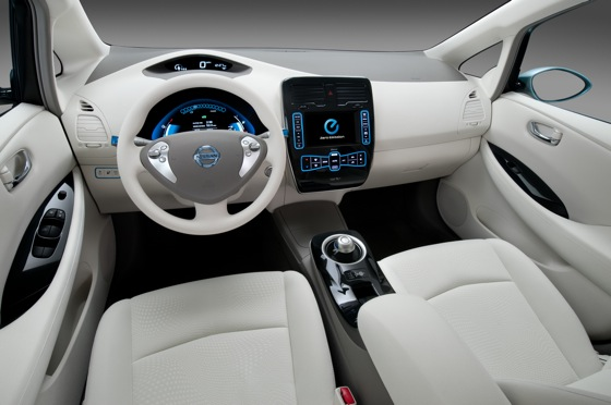 Back to the Future: First Drive of the All-Electric 2011 Nissan Leaf featured image large thumb13