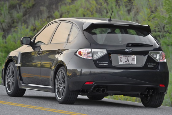 2011 Subaru Impreza WRX/WRX STI - New Car Review featured image large thumb10
