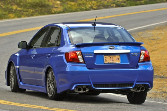 2011 Subaru Impreza WRX/WRX STI - New Car Review featured image large thumb2