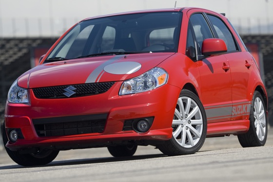 Top Gear USA and a Suzuki SX4: Driving with the Stars featured image large thumb0