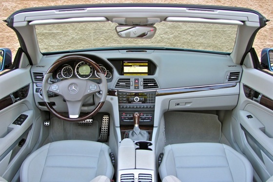 2011 Mercedes-Benz E-Class Cabriolet - New Car Review featured image large thumb11