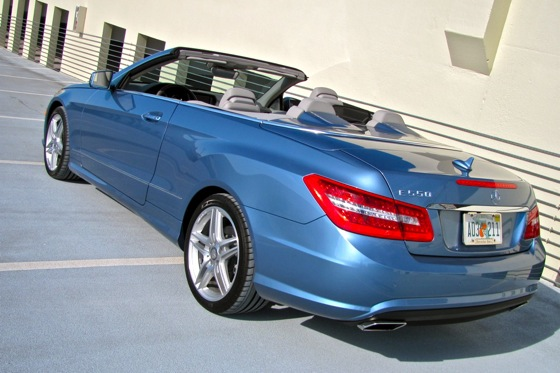 2011 Mercedes-Benz E-Class Cabriolet - New Car Review featured image large thumb4
