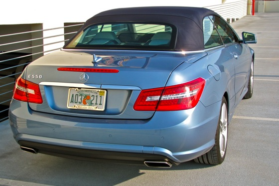 2011 Mercedes-Benz E-Class Cabriolet - New Car Review featured image large thumb7