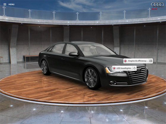 Interested in the Audi A8? There's an App for That featured image large thumb0