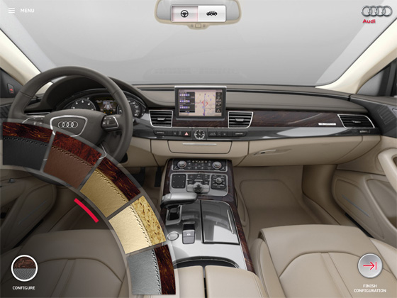 Interested in the Audi A8? There's an App for That featured image large thumb3
