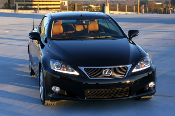 2011 Lexus IS Convertible - New Car Review featured image large thumb0