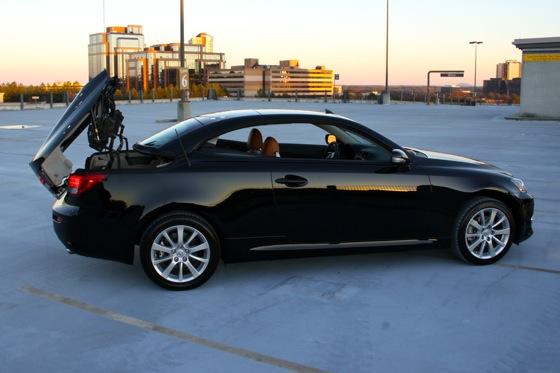 2011 Lexus IS Convertible - New Car Review featured image large thumb12