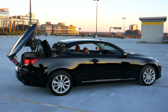 2011 Lexus IS Convertible - New Car Review featured image large thumb13