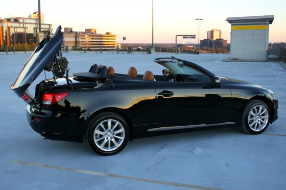 2011 Lexus IS Convertible - New Car Review featured image large thumb15