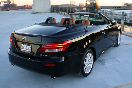 2011 Lexus IS Convertible - New Car Review featured image large thumb19