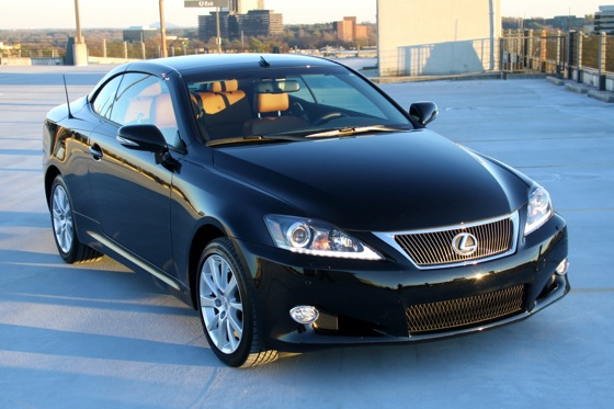 2011 Lexus IS Convertible - New Car Review featured image large thumb2