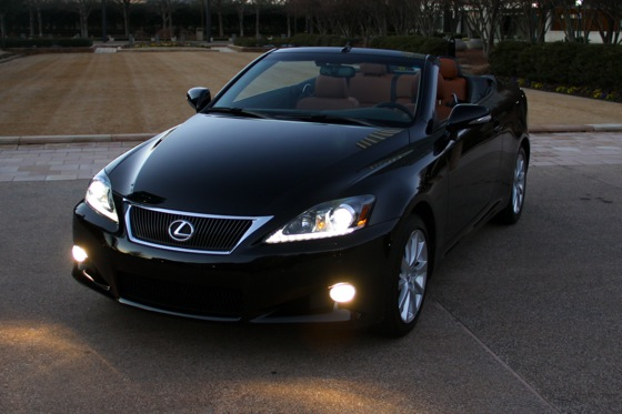 2011 Lexus IS Convertible - New Car Review featured image large thumb20