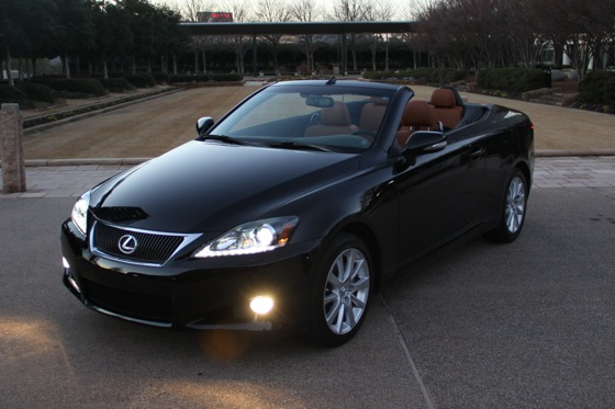 2011 Lexus IS Convertible - New Car Review featured image large thumb21