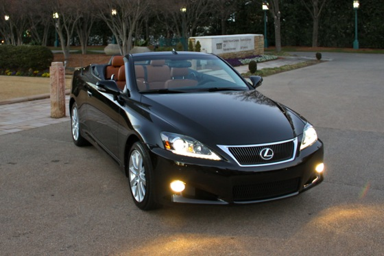 2011 Lexus IS Convertible - New Car Review featured image large thumb22