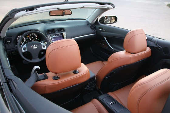 2011 Lexus IS Convertible - New Car Review featured image large thumb23