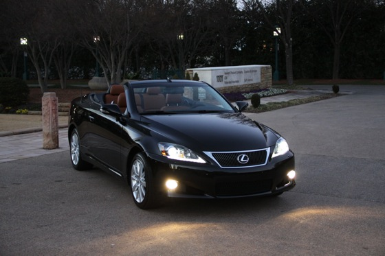 2011 Lexus IS Convertible - New Car Review featured image large thumb24
