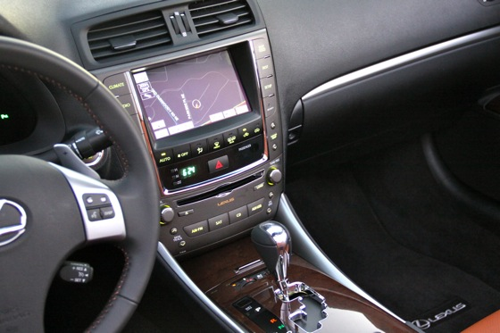 2011 Lexus IS Convertible - New Car Review featured image large thumb28